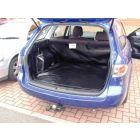 Zwarte kofferbak beschermhoes voor Mazda 6 Stationwagen bouwjaar 2002-2008