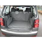grijze kofferbak beschermhoes voor Volkswagen Touran bouwjaar 2003-2010