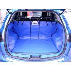 blauwe kofferbak bescherming voor Mazda CX-5 bouwjaar 2012-2017 met gesplitste achterbank