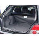 grijze kofferbak beschermhoes voor Subaru Impreza bouwjaar 2002-2007
