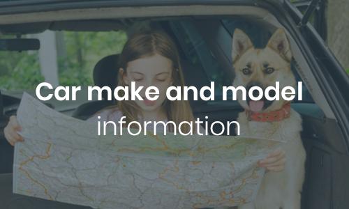 Car make and model information