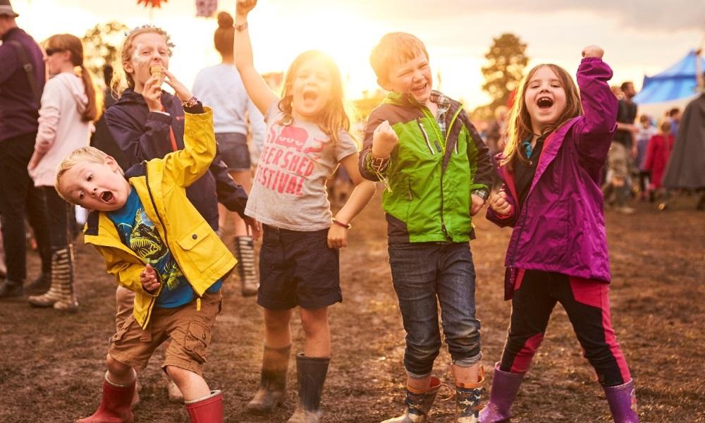 kids at festival