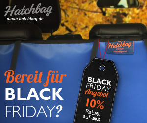 Hatchbag Black Friday 10% Rabatt auf alle Produkte