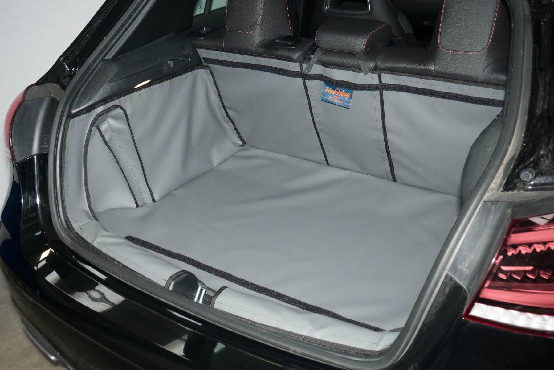 grijze Hatchbag kofferbak beschermhoes