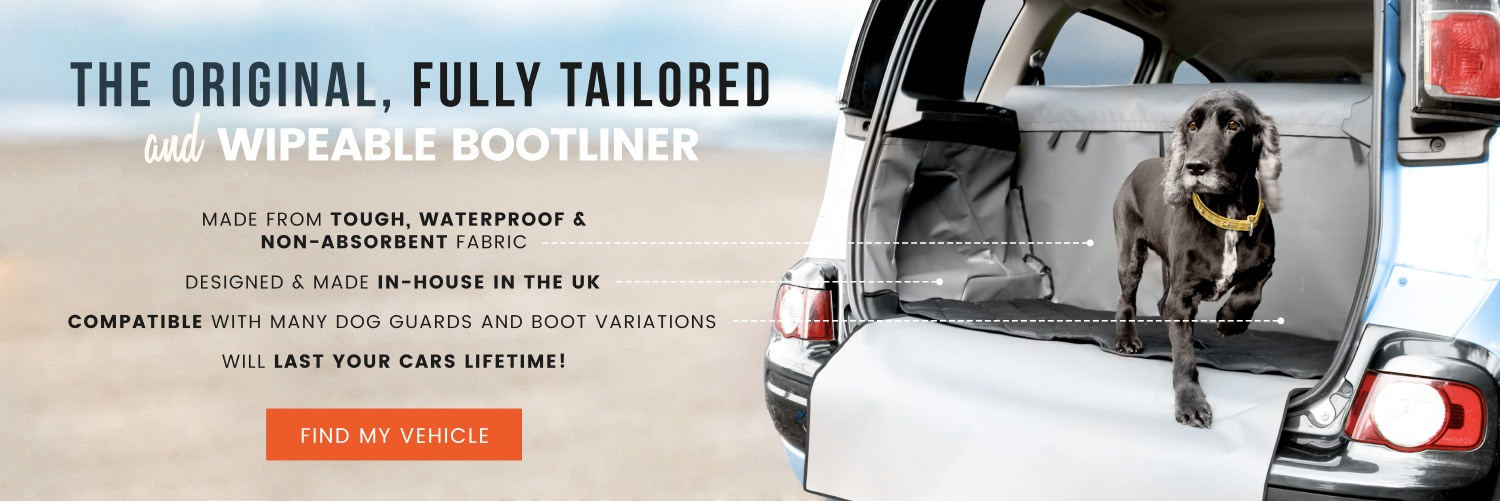 The original, fully tailored and wipeable bootliner!